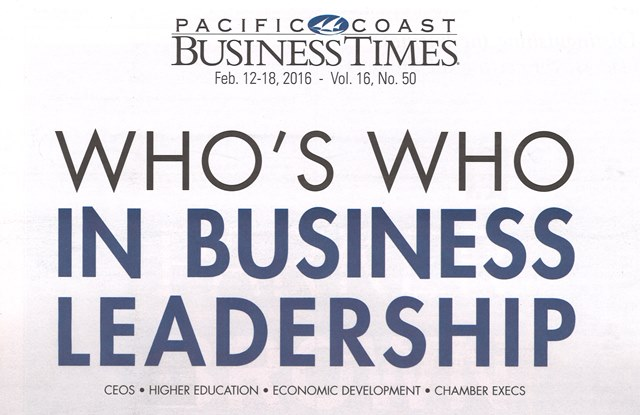 WW In Business Leadership 2016